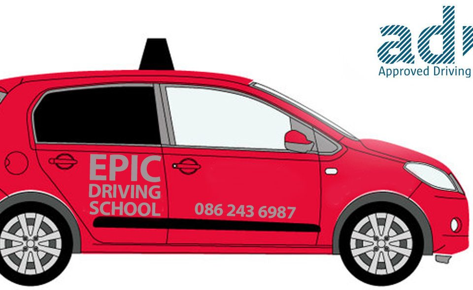 Epic Driving School in Dublin - driving lessons in a safe and comfortable environment