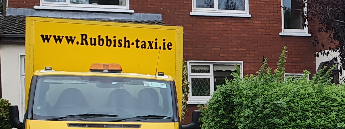 Rubbish removal Dublin – Waste disposal service from Rubbish-Taxi